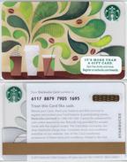 Starbucks - USA - 2015 - CN 6117 SB67 How To Make Coffee - Gift Cards