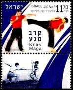 ISRAEL 2017 - KRAV MAGA - The Israeli Self-defence Martial Art - A Stamp With A Tab - MNH