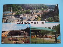 Vue Générale - Piscine - Camping () Anno 19?? ( Zie Foto Voor Details ) !! - Larochette