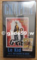 Chaplin Eternel - K7 Vidéo N° 3 - Le Kid Suivi De Une Journée De Plaisir - Collection Marshall Cavendish 1998 - Collections, Lots & Séries
