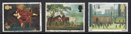 GRANDE BRETAGNE N°491 à 493  Série Complète, Tableau - Used Stamps