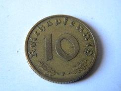 ALLEMAGNE - III REICH - 10 REICHSPFENNIG 1939.F.