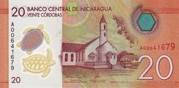 NICARAGUA 20 CORDOBAS 2014 (2015) P-211 UNC [NI507a] - Nicaragua