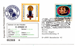 Ballonpost Christkindl (06.12.1987) Ergee_Autriche_Salzburg_partition - Europe