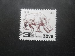 Corée Du Nord N°2612 RHINOCEROS Oblitéré