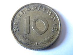 ALLEMAGNE - III REICH - 10 REICHSPFENNIG 1938.J.