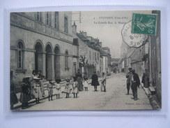 FRANCE - Epoisses - La Grande Rue, La Mairie - France