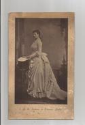 S A R MADAME LA PRINCESSE AMELIE PHOTO ANCIENNE (MARIE AMELIE D'ORLEANS 1865 1951) LA DERNIERE REINE CONSORT (PORTUGAL) - Personalità