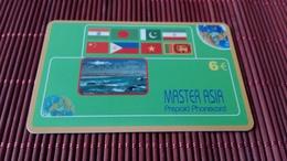 Prepaidcard New Edition Master Asia Used Rare - Belgium