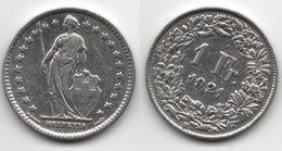 + SUISSE + 1 FRANC 1921 + - Suisse