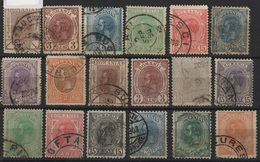 RO 16 - ROUMANIE 18 Valeurs Entre N° 99 Et 134 Oblitérés - 1881-1918: Charles Ier