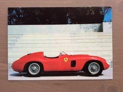 Cartolina In Bianco Ferrari (1956) Type 860 Monza - Grand Prix / F1