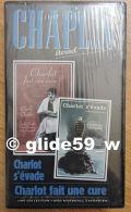 Chaplin Eternel - K7 Vidéo N° 11 - Charlot Fait Une Cure Et Charlot S'évade - Collection Marshal Marshall Cavendish 1998 - Video Tapes (VHS)