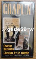 Chaplin Eternel - K7 Vidéo N° 12 - Charlot Musicien Et Charlot Et Le Comte - Collection Marshall Cavendish 1998 - Collections, Lots & Séries