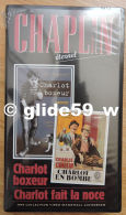 Chaplin Eternel - K7 Vidéo N° 13 - Charlot Boxeur Et Charlot Fait La Noce - Collection Marshall Cavendish 1998 - Collections & Sets