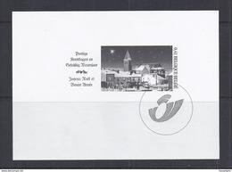 Belgie - Belgique GCB7 - Zwart-wit Velletje Uit Jaarboek 2003  -  Kerstzegels 3224  - NIET GEKWOTEERD