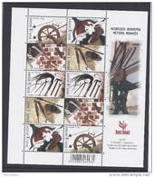 Belgie - Belgique 4079/83 Velletje Van 10 Postfris - Feuillet De 10 Timbres Neufs  -  Bedreigde Beroepen - Feuilles Complètes