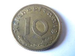 ALLEMAGNE - III REICH - 10 REICHSPFENNIG 1939.D.