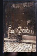 EPICERIE ET LANDAU  CP PHOTO A SITUER - Cartes Postales