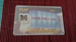Carte Piaf Ville De Brive -La -Gailarde 2 Scans Tirage 20 Very Rare - Cartes De Stationnement, PIAF