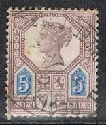 GRANDE BRETAGNE N°99 - Used Stamps