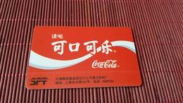 Coca Cola Phonecard China (Mint,Neuve)  Rare - Chine