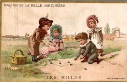Chromos   MAISON DE LA BELLE JARDINIERE  LES BILLES - Unclassified