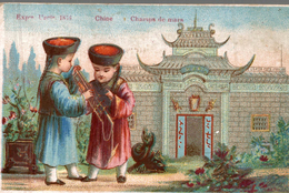 Chromos   OESCHEUX FILS A AUXERRE  SPECIALITES DE CAFE   CHINE - Thé & Café