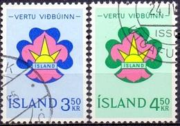 IJsland 1964 Scouting Serie GB-USED. - 1944-... Republik