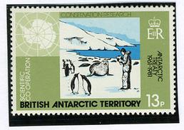 1981 - BRITISH ANTARCTIC TERRITORY - Catg.. Mi. 84/87 -  NH - (I-SRA3207.13) - Territorio Antartico Britannico  (BAT)