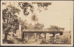 POS-358 CUBA PHOTOGRAPHIC POSTCARD PINES IS. CIRCA 1920. BRIGHT OF SANTA FE. PUENTE. UNUSED. - Cuba
