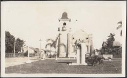POS-360 CUBA PHOTOGRAPHIC POSTCARD PINES IS. CIRCA 1940. IGLESIA DE NUEVA GERONA.  CHURCH. UNUSED. - Cuba