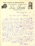 34.HERAULT.PAULHAN.MENUISERIE EBENISTERIE.LOUIS ROUBY. - Petits Métiers