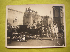 Photo N&B 1922 Visite Afrique Du Nord Casablanca Président De La RF Mr Millerand 16.5 X 11 Cm Légion étrangère - Identified Persons