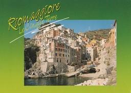 10161) RIOMAGGIORE LA MARINA VIAGGIATA - La Spezia