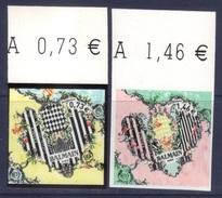 Adhésif Pierre Balmain 0.73 + 1.40 BDF (2017) Neuf** - Unused Stamps