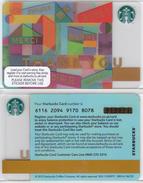 Starbucks - UK - 2015 - CN 6116 SB58 Thank You - Gift Cards