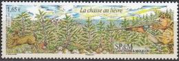 Saint-Pierre & Miquelon 2008 Yvert 937 Neuf ** Cote (2015) 6.60 Euro La Chasse Au Lièvre - Neufs