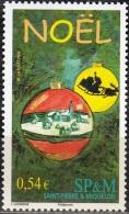 Saint-Pierre & Miquelon 2006 Yvert 881 Neuf ** Cote (2015) 2.10 Euro Boules De Noël - Neufs
