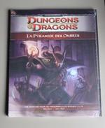 Livre Dungeons Et Dragons La Pyramide Des Ombres Jeu De Rôle Neuf Donjons Et Dragons Neuf Sous Blister - Littérature