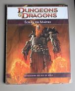 Livre Dungeons Et Dragons écran Du Maître Jeu De Rôle Neuf Donjons Et Dragons Neuf Sous Blister - Books