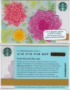 Starbucks - USA - 2015 - CN 6118 SB74 - Gift Cards
