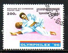 CAMBODGE. N°1382F Oblitéré De 1996. Judo.