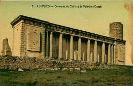 83 - 040217a - TOURVES - Colonnes Du Château De Valbelle (ouest) - - Other Municipalities