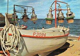 LA COTE ENSOLEILLEE - Bateau De Pêche Aux Lamparos - Barche