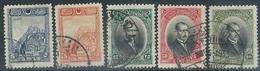 Turkey  1926  Sc#641, 643-6  5 Diff Used   2016 Scott Value $5.50 - 1921-... République