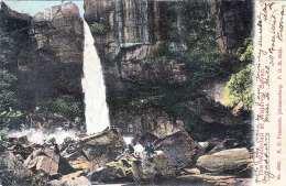 Waterval BOVEN (Südafrika), Gel.1911, 1/2 D Marke Transvaal - Sud Africa