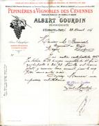 30.GARD.SAINT HIPPOLYTE DU FORT.PEPINIERES & VIGNOBLES DES CEVENNES.ALBERT GOURDIN PEPINERISTE. - Frankreich