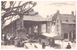 La Corrèze Pittoresque / 76 - TREIGNAC - Place Charles - Lachaud / La Halle - Treignac