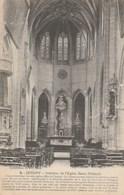 Dép. 89 - JOIGNY - Intérieur De L'Eglise Saint-Thibault. Collection J. D., Sens. N°4. Correspondance 1918. - Joigny